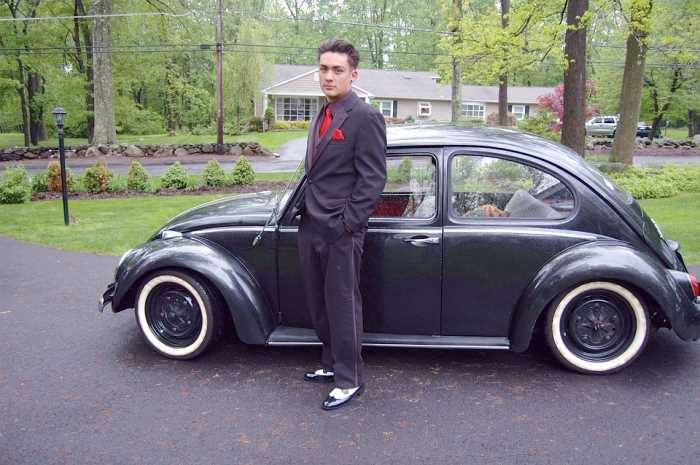 Posing With Car